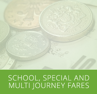 School, Special and Multi Journey Fares